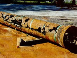 Cast Iron Pipe Repair - Trenchless Co  Plumbing